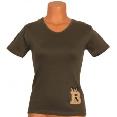 Tričko, khaki, Bernský salašnický pes