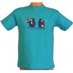 Tričko, turquoise, Bernský salašnický pes