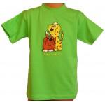 Tričko, lime-green, Bernský salašnický pes