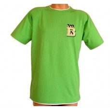 Tričko, lime-green / white, Bernský salašnický pes