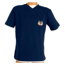 Tričko, navy / white, Bernský salašnický pes
